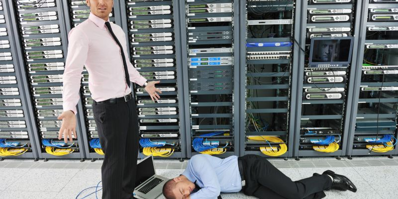 photodune 1821367 system fail situation in network server room m