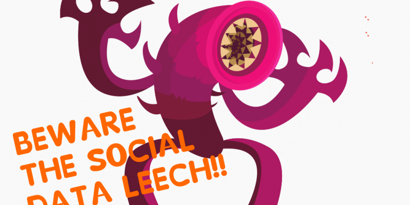 the social data leech