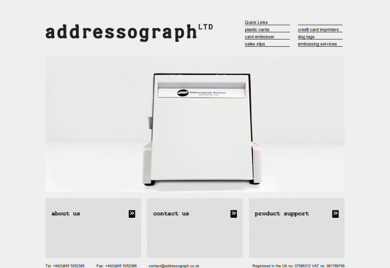 Addressograph