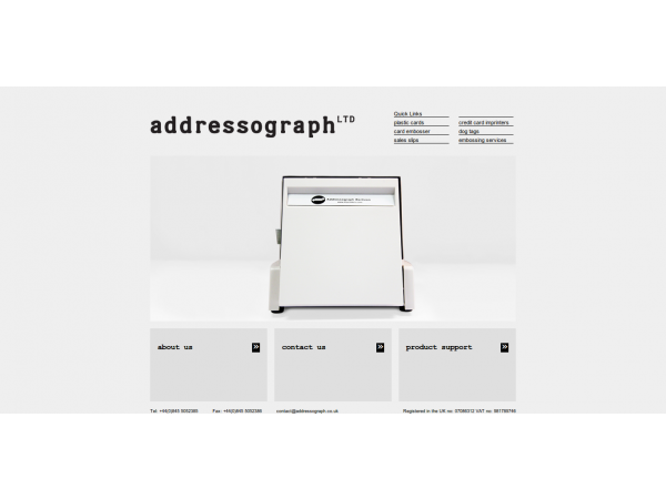 addressograph website Gloucester