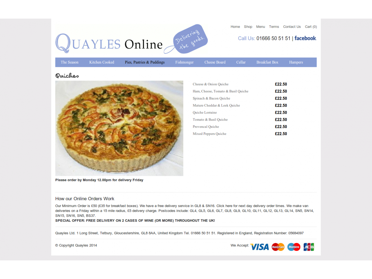 quayles webstore products gloucestershire