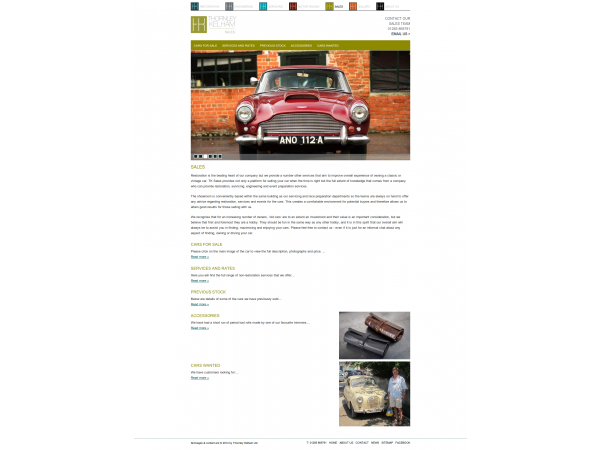 thornleykelham website sales gloucestershire
