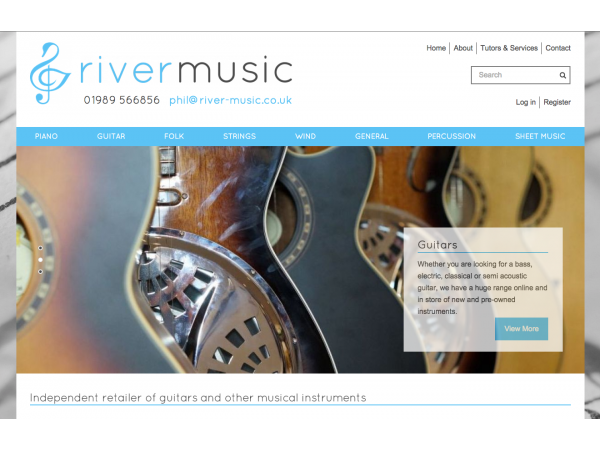 River Music Home Page
